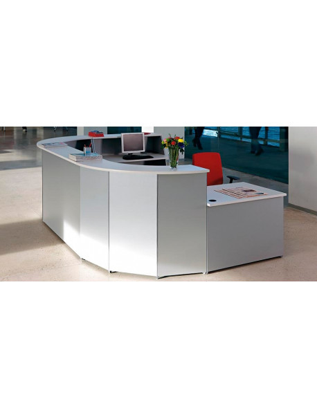 Recepcion-|-Mostradores Mesas Mobiliario-de-oficina Mostrador OFIMAT