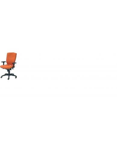 Silla Oficina Operativa Modelo BRIDGE Respaldo Alto, Sistema Sincro