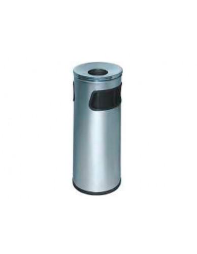 Cenicero-Papelera Modelo 419-I Acero Inoxidable Tapa Cromada
